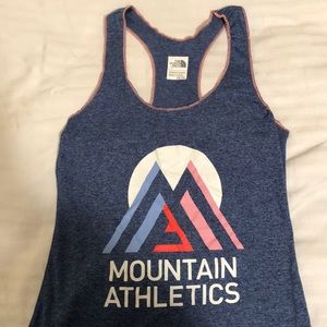 The North Face mountain athletics racer back tank